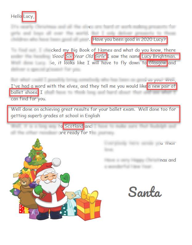 Santa Letter 2020