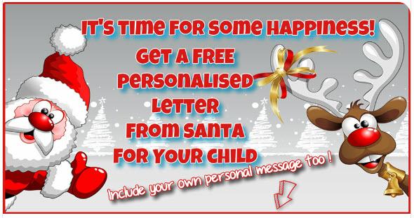 Paul CArr Santa Letter