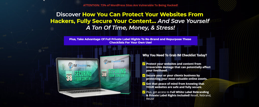 Secure Your Content Checklists With PLR